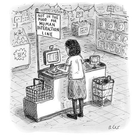 technology grocery stores web comics - 8013636096