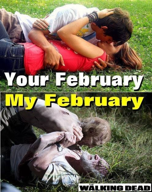 Dale Horvath,zombie,february,Valentines day