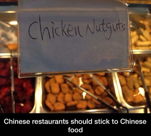 chinese food chicken nutguts chicken nuggets - 8013814528