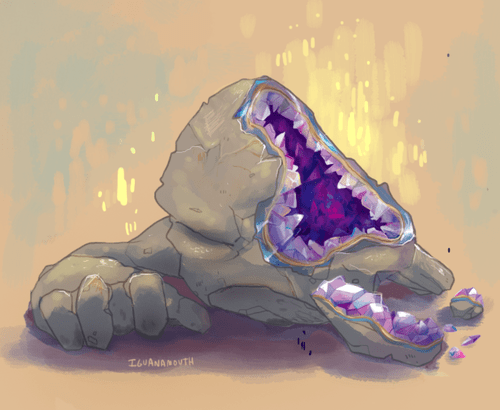 Sad Pokémon Fan Art geodude - 8013857536