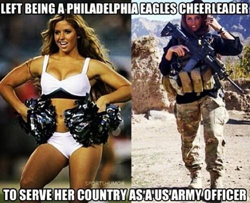 sports military cheerleaders - 8013875968