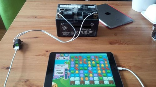 ipad batteries there I fixed it g rated - 8013884160