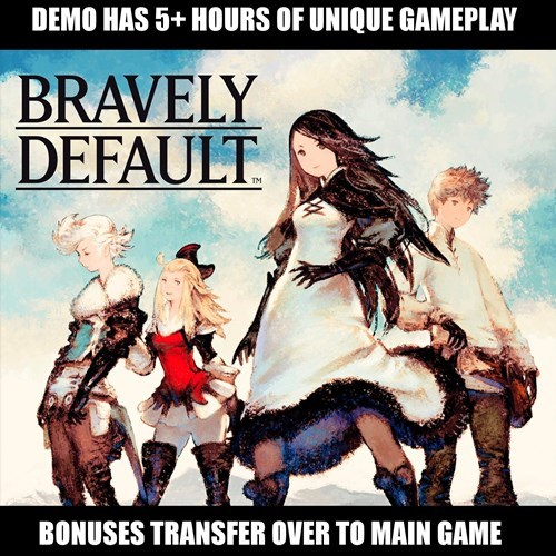 bravely default 3DS demoes - 8013885440