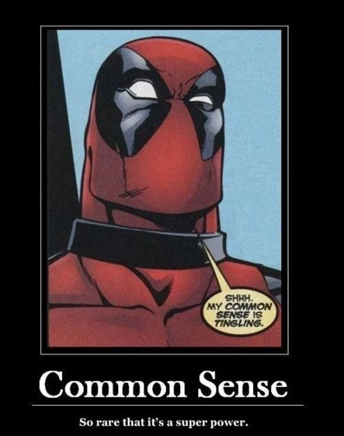 superpowers,deadpool,off the page,common sense
