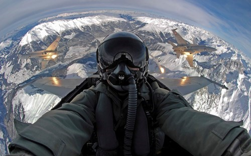 merica jets selfie BAMF air force