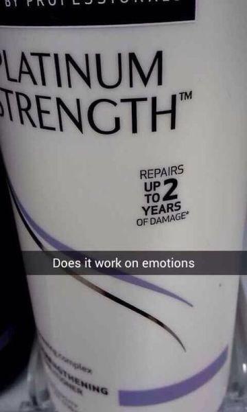 forever alone,snapchat,crey,shampoo