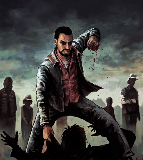 Fan Art telltale games lee everett The Walking Dead - 8014391040