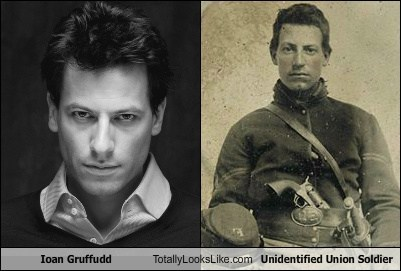 union soldier,totally looks like,ioan gruffud