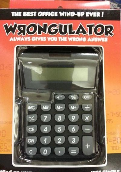calculators,wrongulator,math