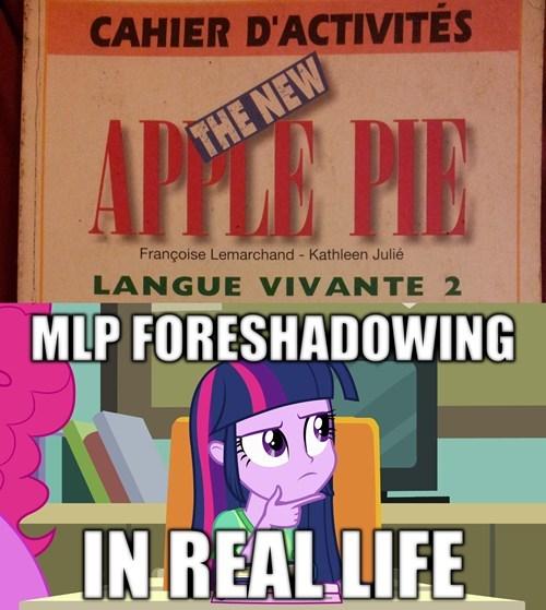 Apple Family pinkie pie overanalyzing twilight pony irl - 8015225344