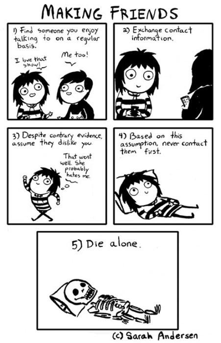 friends sad but true guides web comics - 8015243520