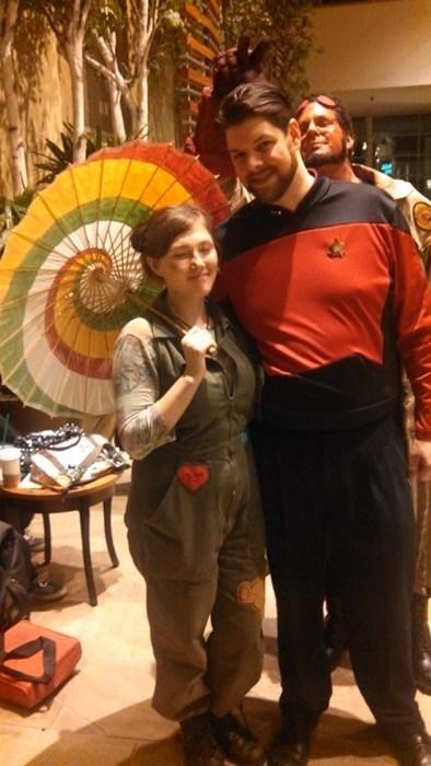 Kaylee Frye,cosplay,Riker,Firefly,Star Trek,hellboy