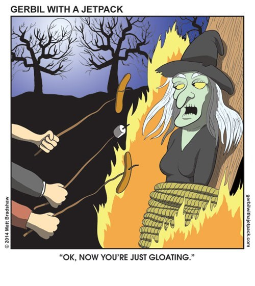campfire Witches web comics