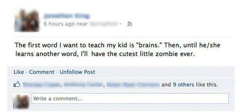 Babies,parenting,zombie