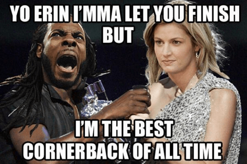 seattle seahawks,erin andrews,richard sherman