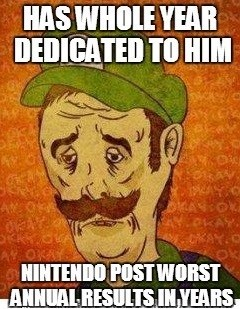 nintendo feels luigi Sad - 8015514880