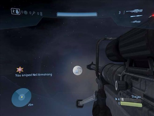 halo 3 no scope the moon snipers old but gold - 8015528704
