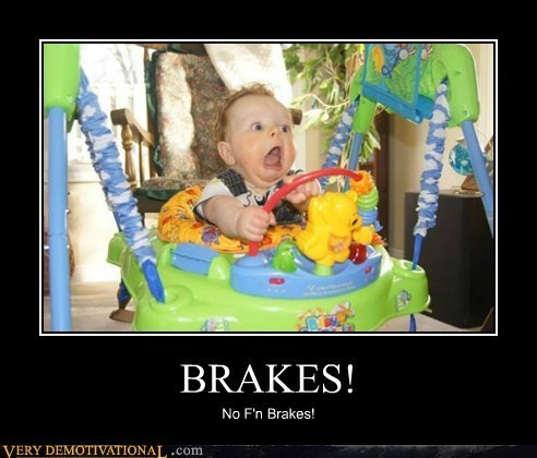 kid,driving,brakes screwed