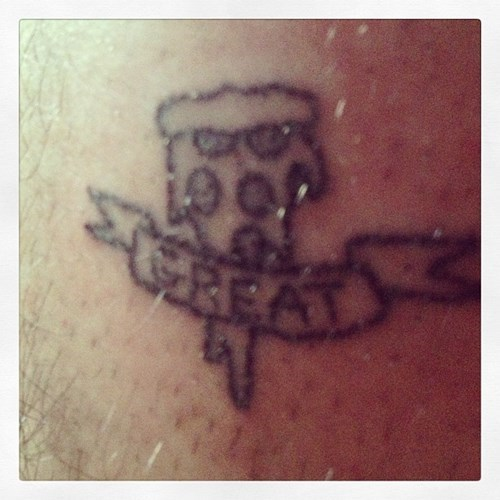 bad pizza tattoos - 8015589120