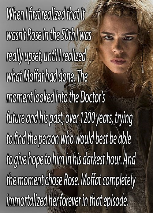 rose tyler,bad wolf,doctor who,50th anniversary