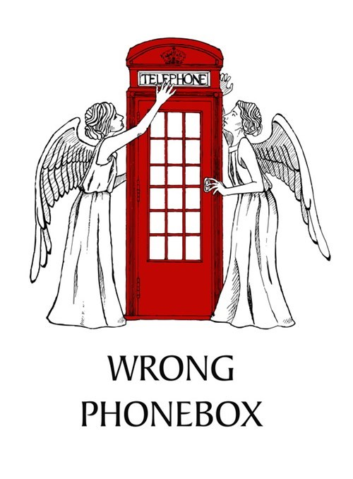 weeping angels Fan Art doctor who inspector spacetime - 8015637248