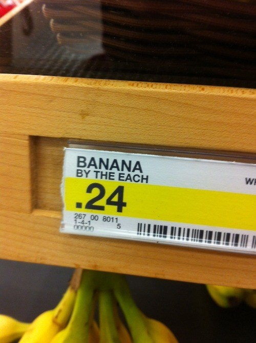 bananas,banana by the each,monday  thru friday,g rated