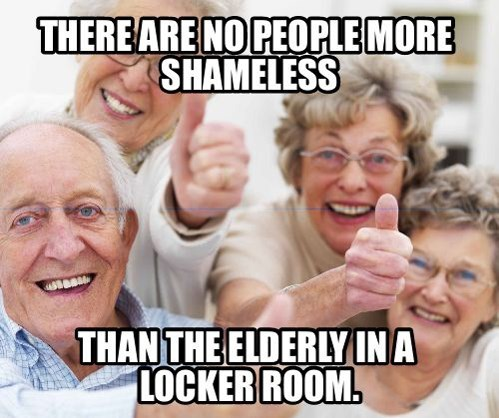 gym,elderly,old people