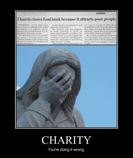 charity church funny idiots wtf - 8015744256