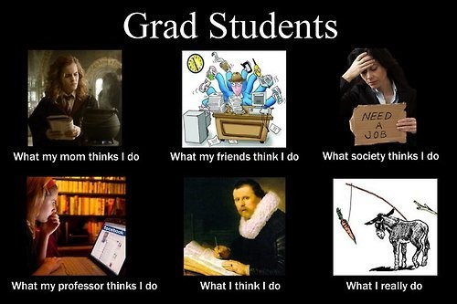 funny Sad reality grad student g rated School of FAIL - 8015784448