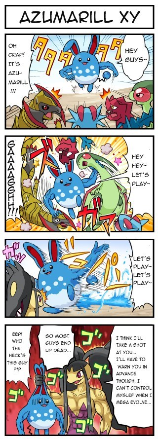 Pokémon OP web comics azumarill fairy types - 8015890176