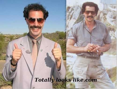 borat totally looks like dad - 8015942656
