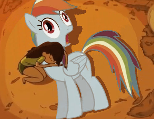 paralyzed horse bravest warriors rainbow dash - 8016031744