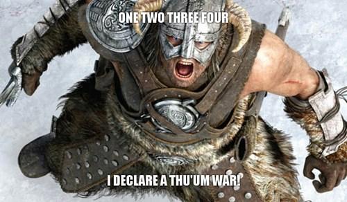 Skyrim the elder scroll thumb wars - 8017272320