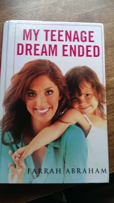 books,idiots,teen mom,farrah abraham