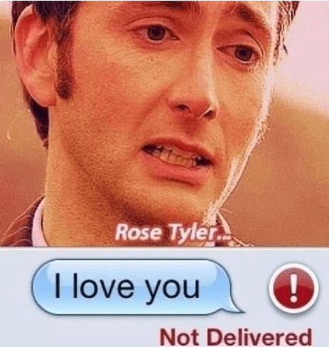 10th doctor,rose tyler,sms