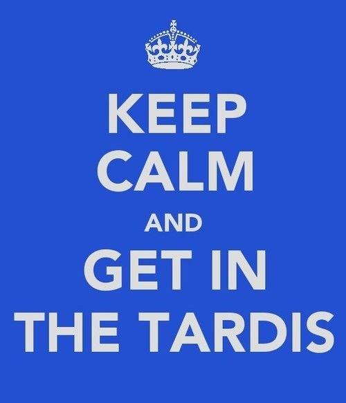 doctor who keep calm tardis - 8017340416