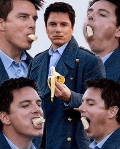 The Doctor Isn't the Only One Who Likes Bananas