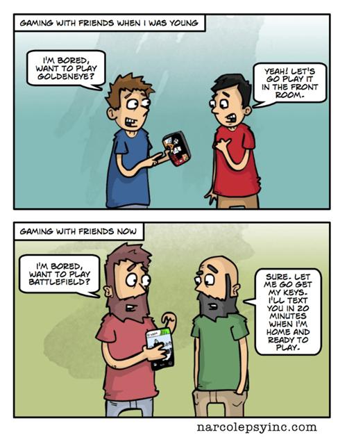 gaming gamers video games web comics - 8017360896