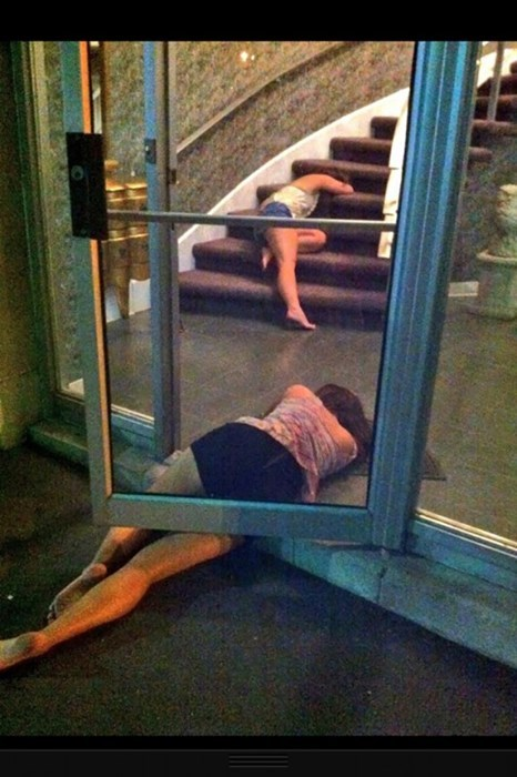 dorms passed out funny college - 8017374976