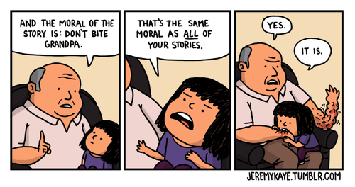 bites Grandpa web comics - 8017455360