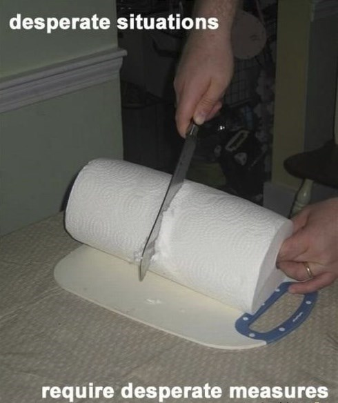 paper towels there I fixed it toilet paper - 8017462528