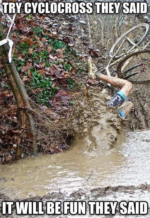 They Said cyclocross