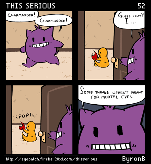 Pokémon charmander gengar web comics - 8017491712