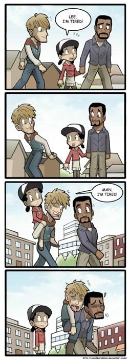 The Walking Dead web comics lee everett - 8017505536