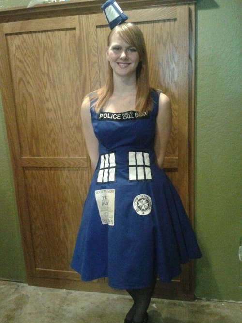 cosplay tardis doctor who - 8017895936