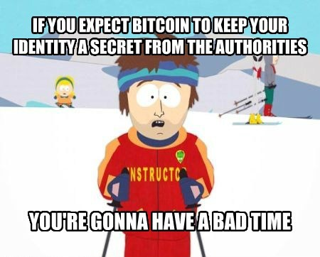 bitcoin Memes super cool ski instructor