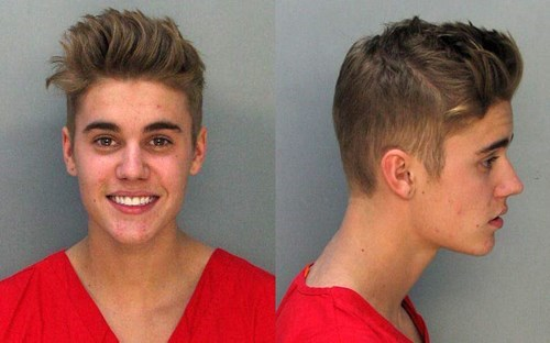 Justin Bieber Arrested on DUI Charges: Happiest Mug Shot Ever