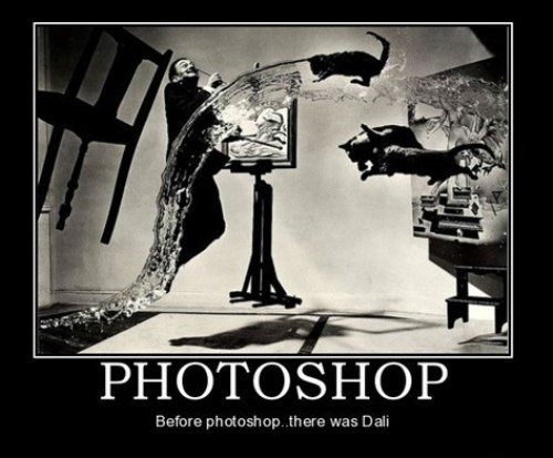 art salvador Dali photoshop funny - 8018584576