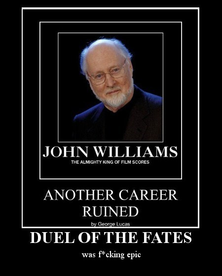 george lucas,Music,awesome,movies,john williams,funny