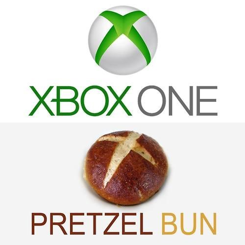 totally looks like,pretzel bun,xbox one